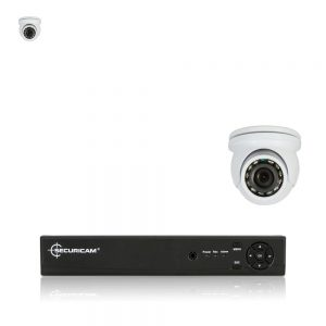 Securicam 2 AHD Mini dome Camera Kit AHD 720P Waterproof