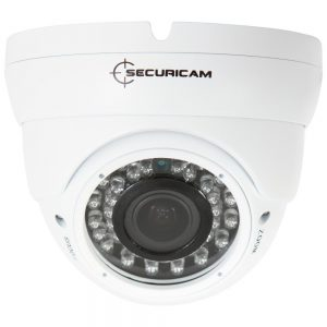 Securicam 2 AHD White Varifocal Dome Camera Kit AHD 720P Waterproof Cameras 30M IR P2P DVR