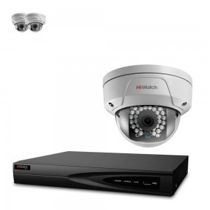 HiWatch By Hikvision 3 X 2MP IP 30m IR Vandal Dome Camera